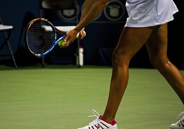 nohy tenistky