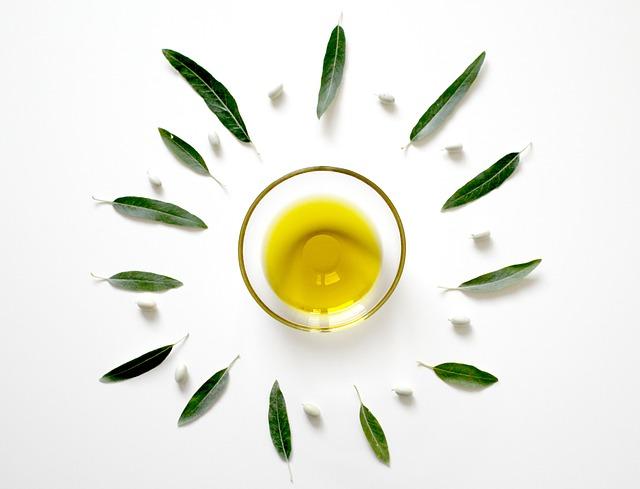 olivový list a olej