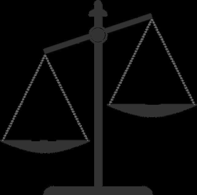 váha spravedlnosti