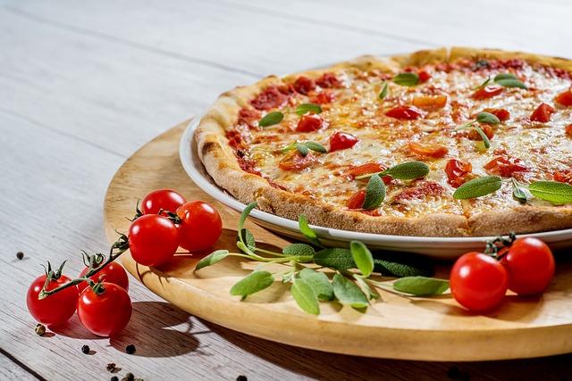 rajčátka u pizzy