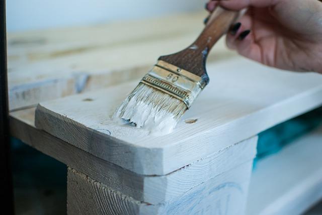 Malování palety